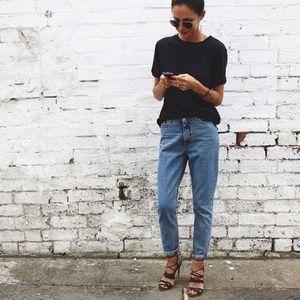 Wrangler High Waisted Mom Jeans